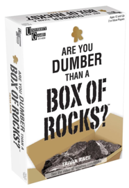University Games: Are You Dumber Than a Box of Rocks? - Party Game image