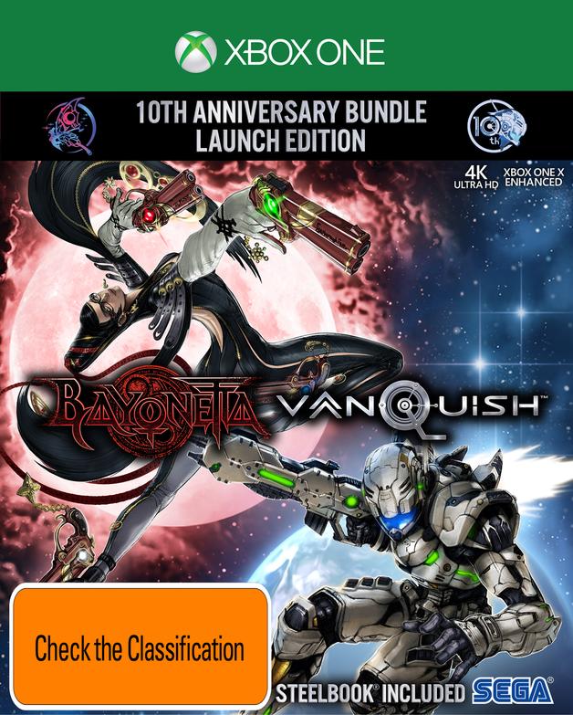 Bayonetta & Vanquish 10th Anniversary Launch Edition for Xbox One