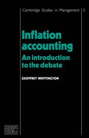 Cambridge Studies in Management: Series Number 3 by Geoffrey Whittington