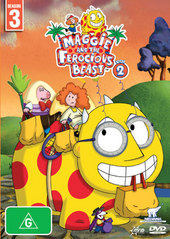 Maggie And The Ferocious Beast: Vol 2 on DVD