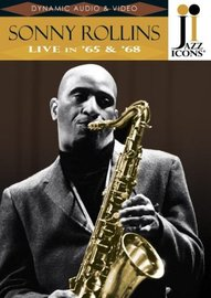 Sonny Rollins - Live in '65 and '68 (Jazz Icons) DVD