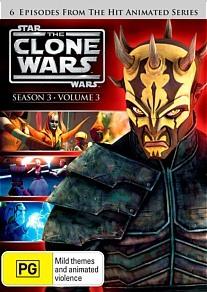 Star Wars: The Clone Wars - Season 3 Volume 3 on DVD image