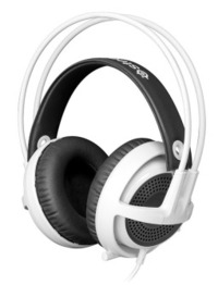 SteelSeries Siberia V3 Gaming Headset (White) for PC Games