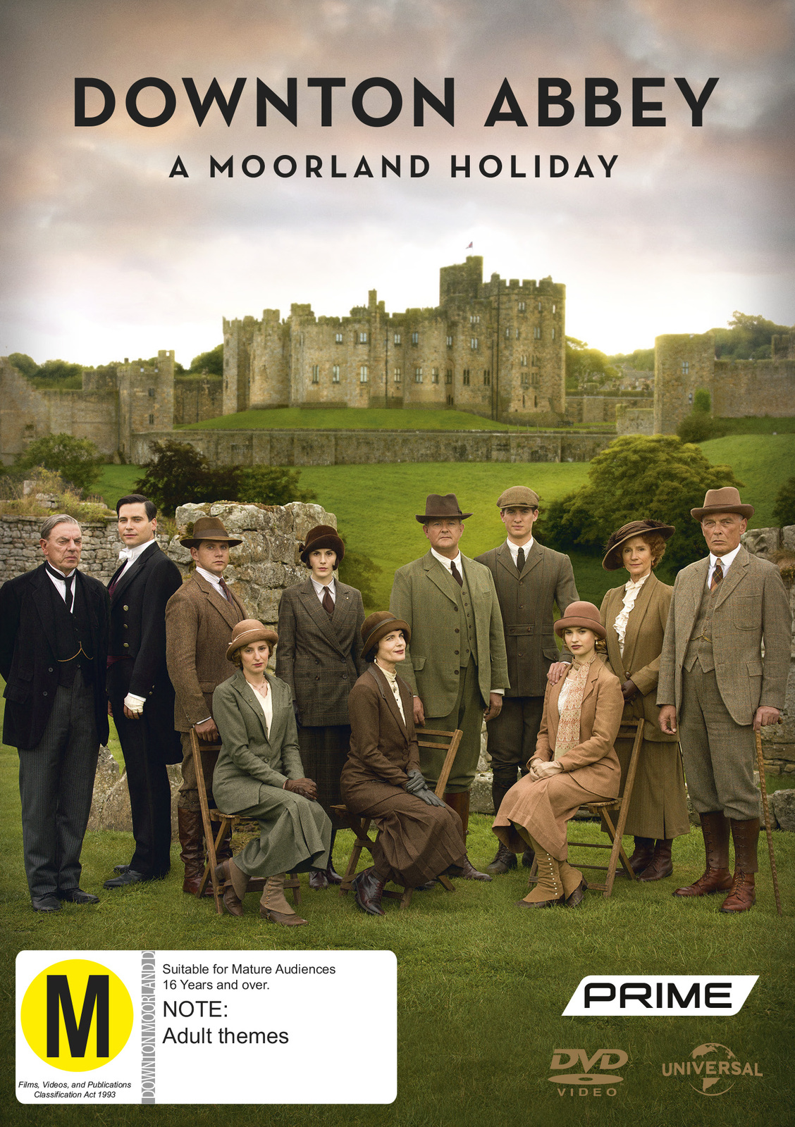 Downton Abbey - A Moorland Holiday on DVD image