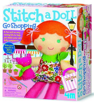 Go Shopping 4M Stitch a Doll