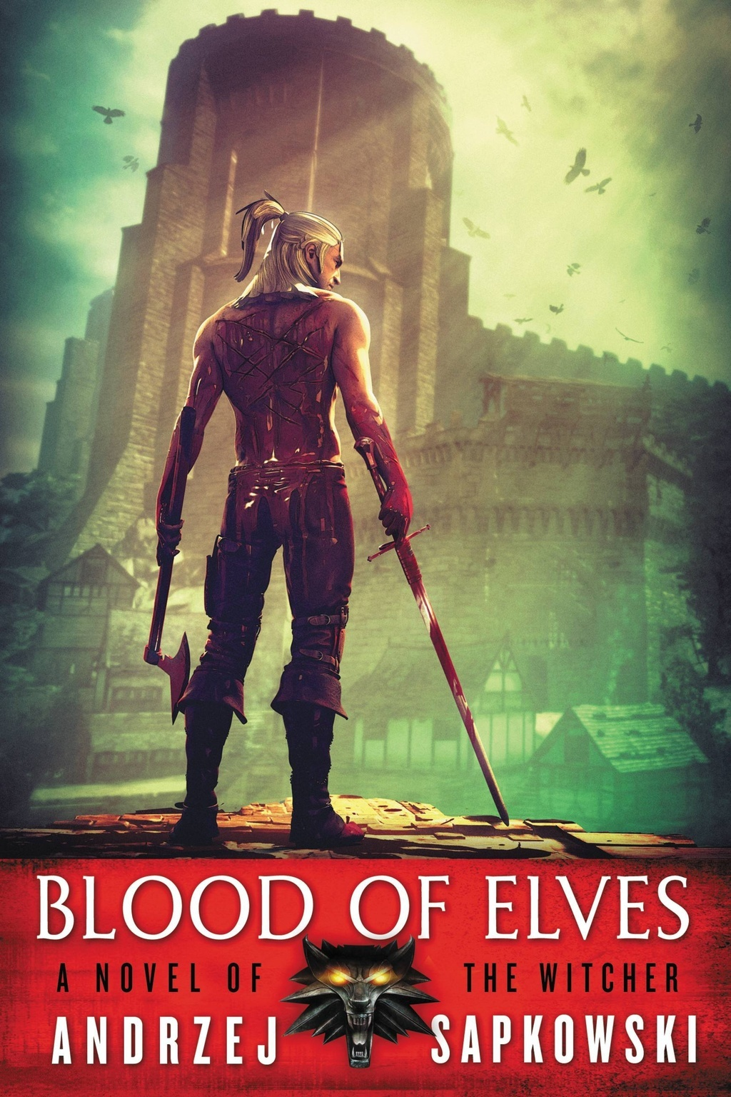 The Blood of Elves (The Witcher #2) (US Ed.) by Andrzej Sapkowski image
