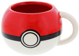 Pokemon: Pokeball - Molded Coffee Mug