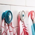 Button Up Magnetic Holders (Turquoise & Red)