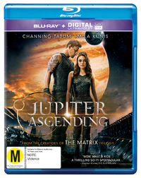 Jupiter Ascending on Blu-ray