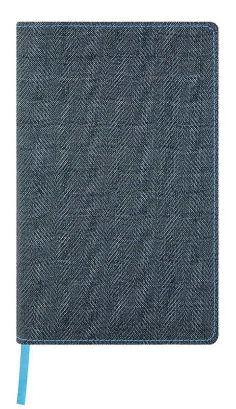Castelli: Harris Slate Blue 2020 Diary A5 Weekly with Notes