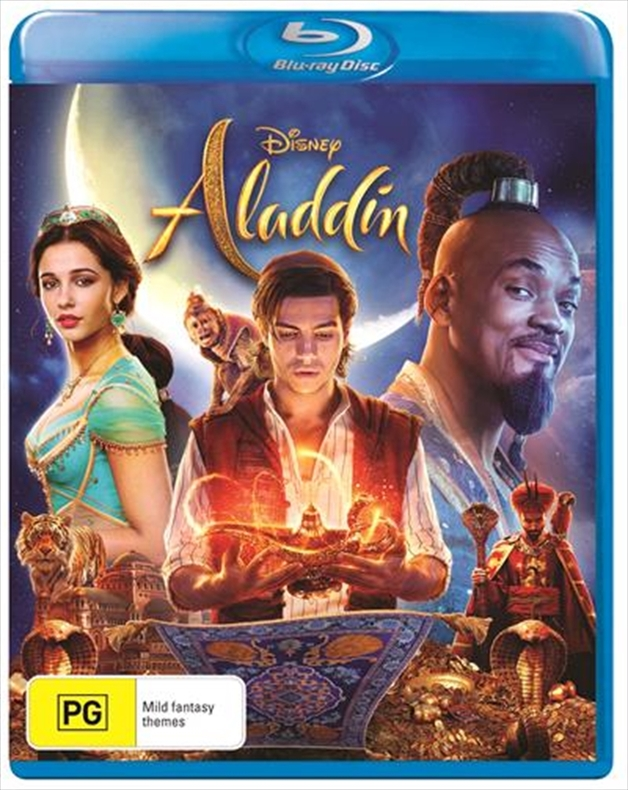 Aladdin - (2019) on Blu-ray