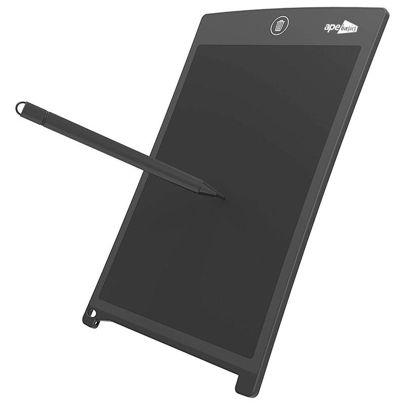 Ape Basics LED Kids Writing Education Tablet Black image