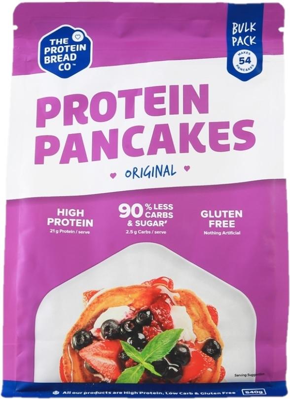 PBCo. Protein Pancake Mix Bulk Pack (540g) image