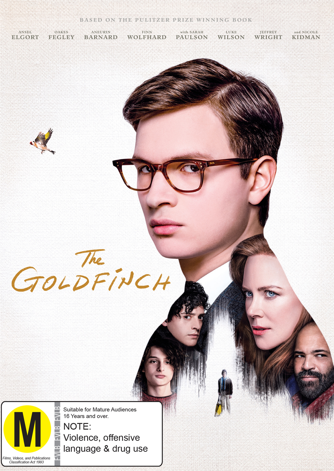 The Goldfinch on DVD image