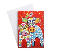 Maxwell & Williams: Love Hearts Greeting Card - Happy Moo Day