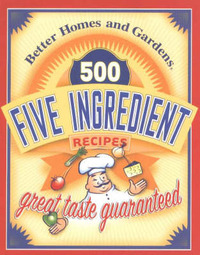 500 Five Ingredient Recipes image