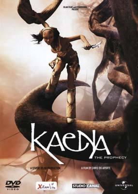 Kaena - The Prophecy  on DVD