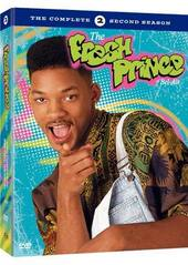 Fresh Prince Of Bel-Air, The - Complete Season 2 (4 Disc Box Set) on DVD