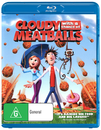 Cloudy with a Chance of Meatballs on Blu-ray