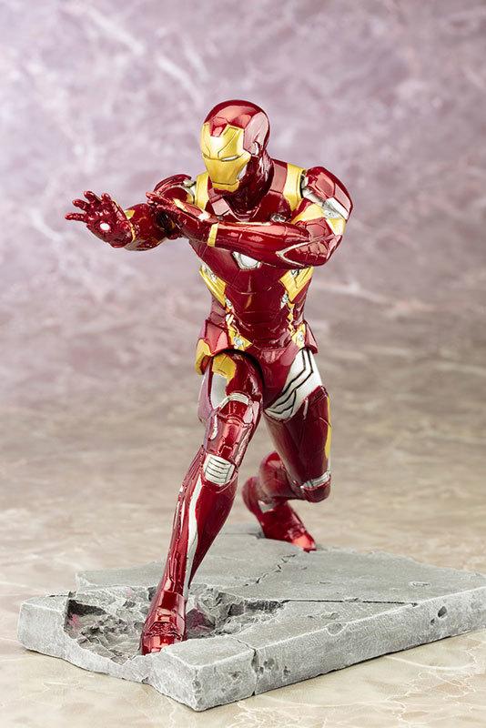 Captain America 3 - 1/10 Iron Man (Mark 46) ARTFX+ Figure image