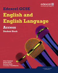 Edexcel GCSE English and English Language Access Student Book by Clare Constant image