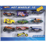 Hot Wheels 10 Car Gift Pack Assorted