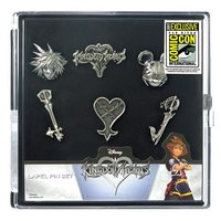 Kingdom Hearts Pewter Pin 6-Pack - San Diego Comic-Con 2017 Exclusive