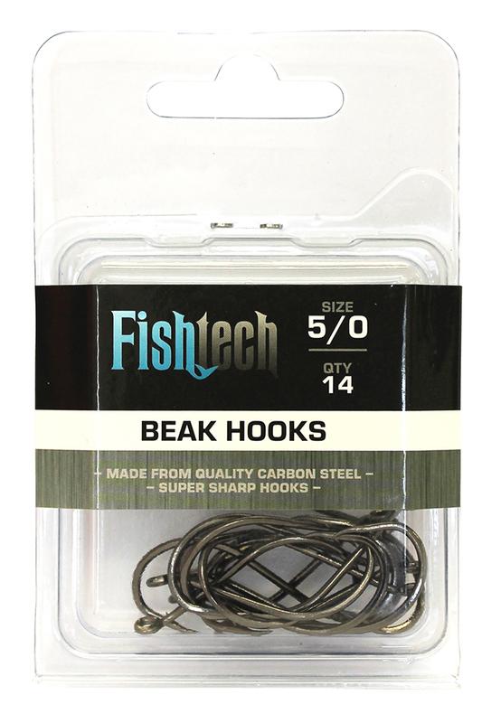 Fishtech Beak Hooks 5/0 (14 per pack)