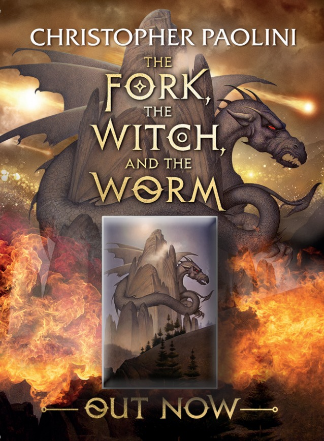 The Fork, the Witch, and the Worm by Christopher Paolini image