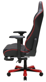 DXRacer Iron Series IS133 Gaming Chair (Black & Red) for PC