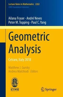 Geometric Analysis by Ailana Fraser