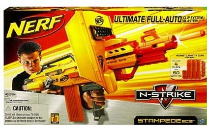 Nerf N Strike Stampede Ecs Toy At Mighty Ape Nz