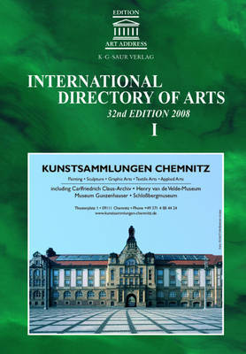 International Directory of Arts: 2008
