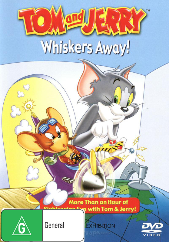 Tom And Jerry - Whiskers Away! on DVD