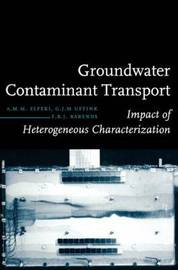 Groundwater Contaminant Transport by A.M.M. Elfeki
