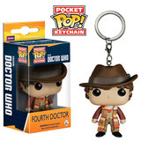 Doctor Who - 4th Doctor Pop! Keychain