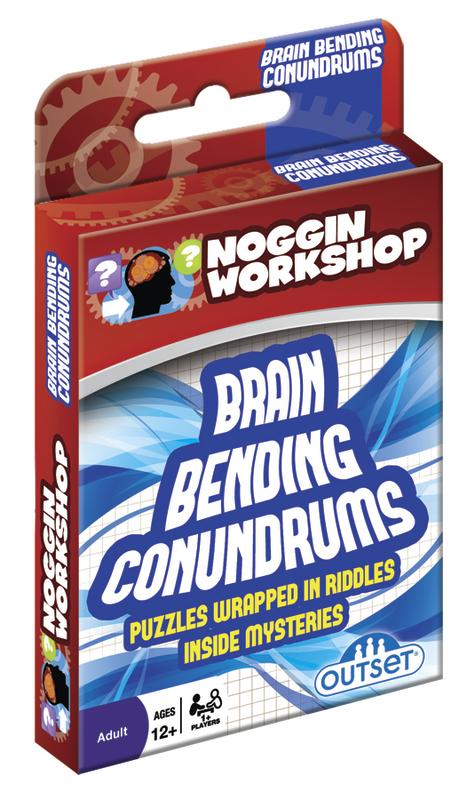 Noggins Workshop: Brain Bending Conundrums Card Game