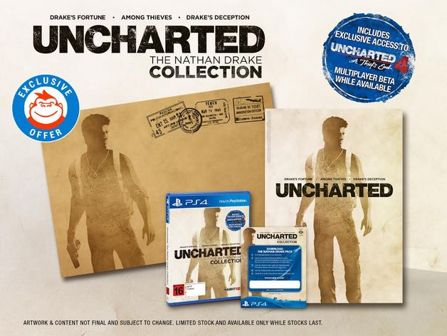 Uncharted: The Nathan Drake Mighty Explorer Pack Collection for PS4