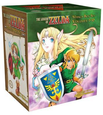 The Legend of Zelda Manga Box Set (Complete 10 Volumes) by Akira Himekawa