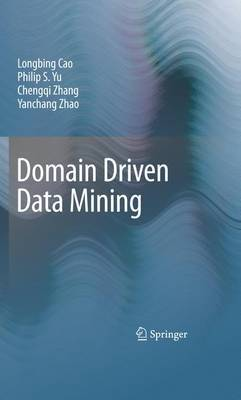 Domain Driven Data Mining by Longbing Cao image