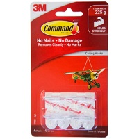 Command Ceiling Hooks (4 Pack)