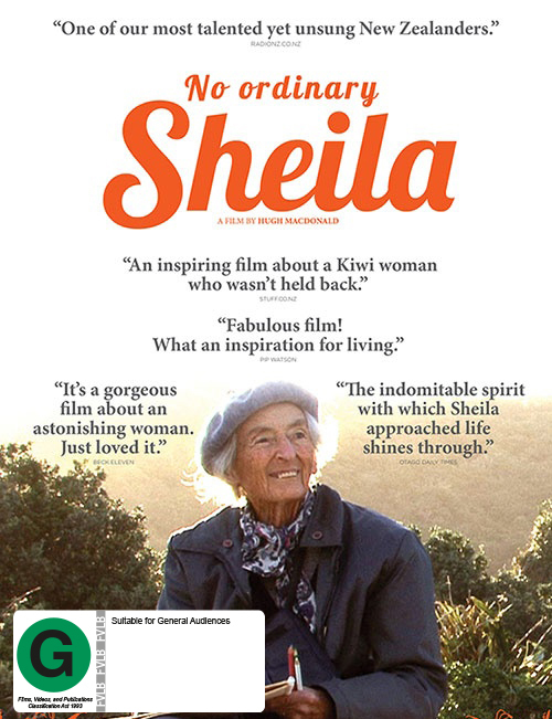 No Ordinary Sheila on DVD