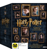 Harry Potter: Complete 8-Film Collection - Limited Edition on DVD