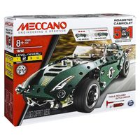 Meccano: 5-in-1 Roadster Pull Back Car image