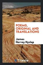 Poems, Original and Translations by James Hervey Hyslop image
