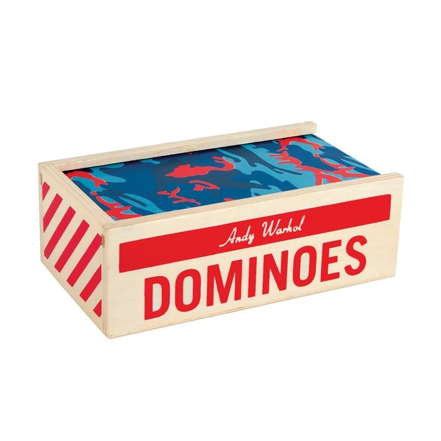 Andy Warhol: Wooden Dominoes