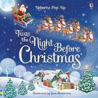 Pop-Up 'Twas The Night Before Christmas by Susanna Davidson