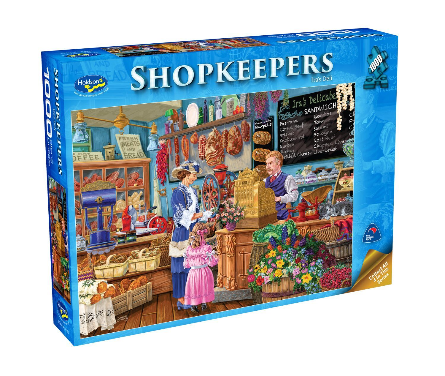 Holdson: Shopkeepers - Ira's Deli (1000pc puzzle) image