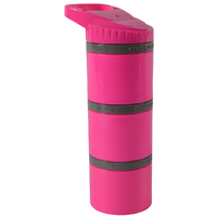 Cyclone Cup Core Dry Storage Containers - Pink