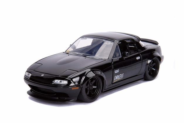 Jada 1/24 JDM- '90 Mazda Miata HT Black - Diecast Model